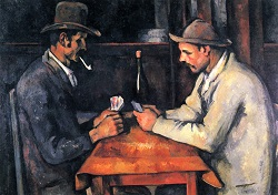 The card players 1893 97x130