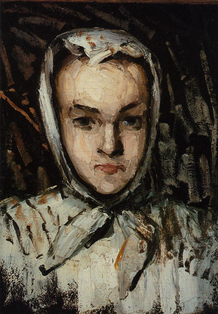 Portrait of Marie Cezanne the artist's sister 1867