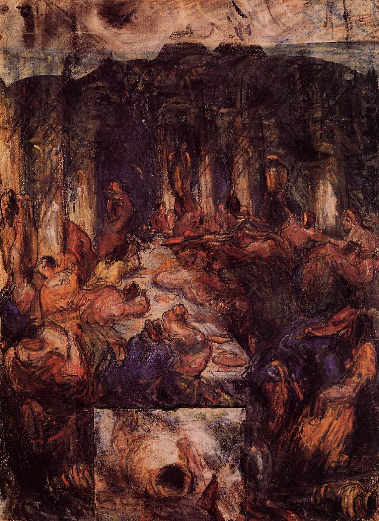 The feast 1867