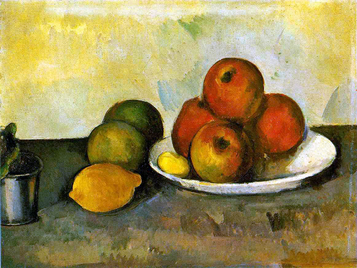 Still Life with apples 1890