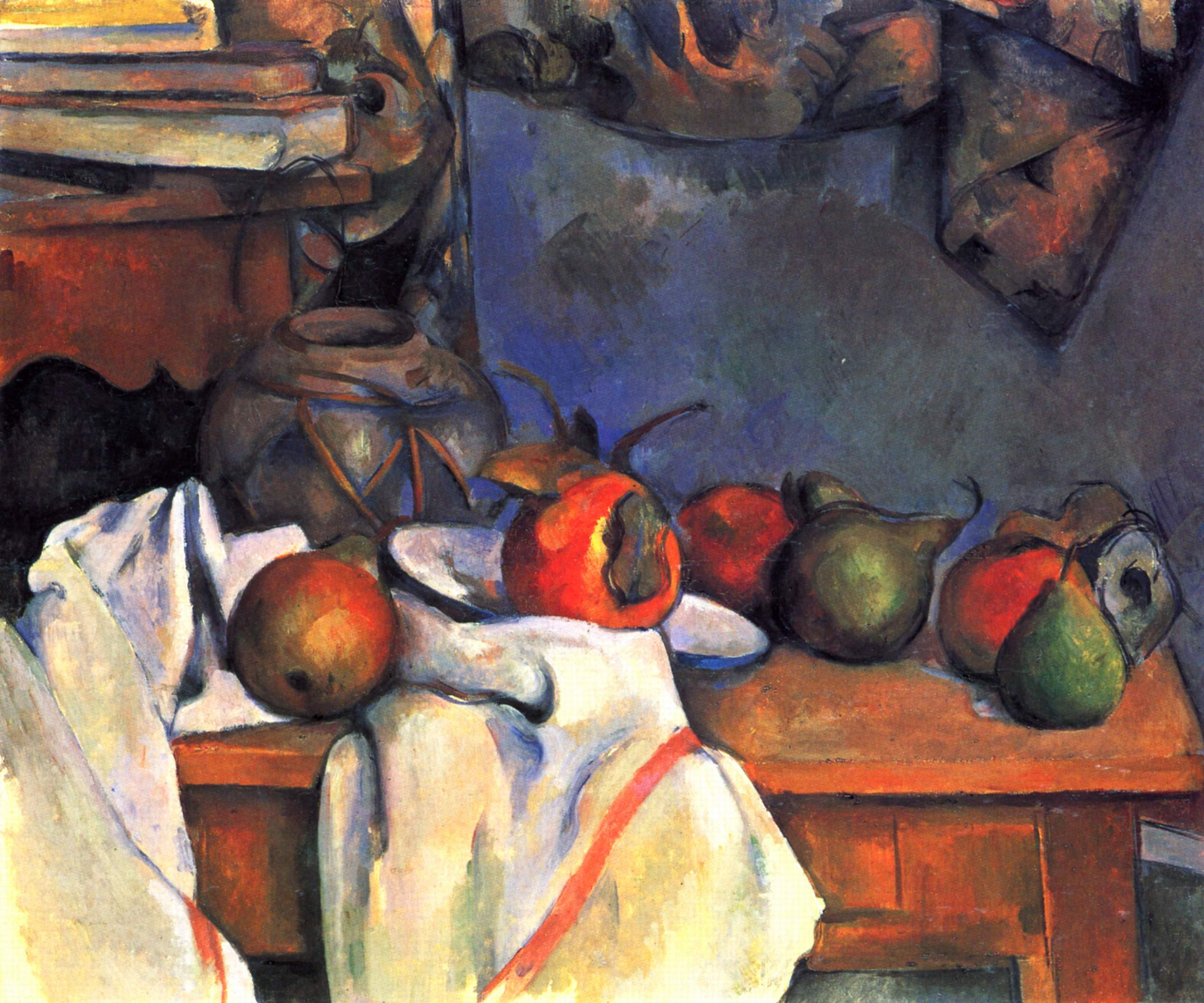 Still life with pomegranate and pears 1893