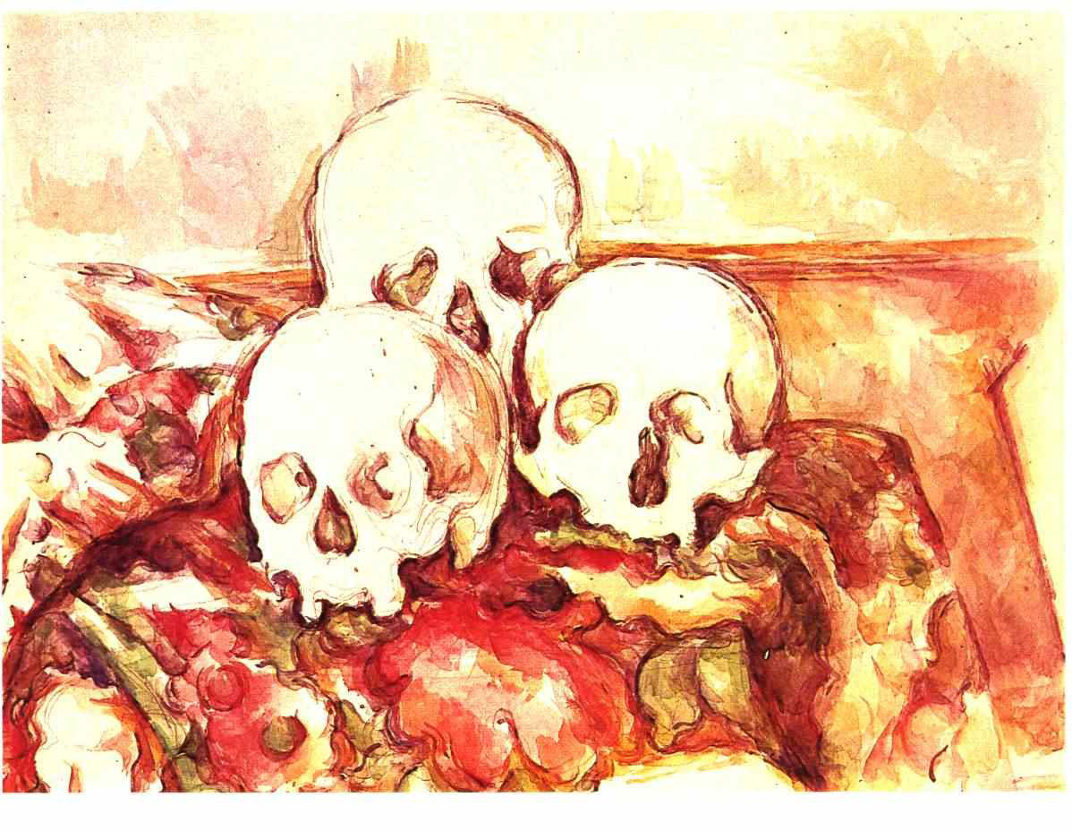 Still life with three skulls 1903