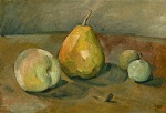 Still Life, Pears and Green Apples 1873