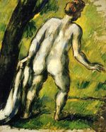 Bather from the back 1878