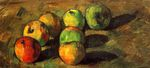 Still life with seven apples 1878