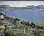 The Gulf of Marseilles from L'Estaque 1879