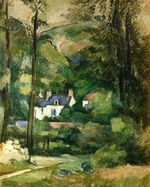 Houses in the greenery 1881