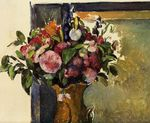 Flowers in a vase 1882