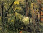 In the woods 1885