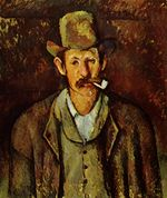 Man with a pipe 1892