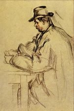 Study for Card Players 1892