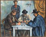 The card players 1892
