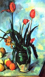 Tulips in a vase 1892