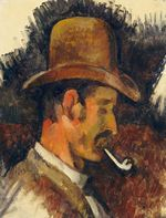 Man with Pipe 1892-1896