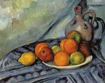Fruit and jug on a table 1894